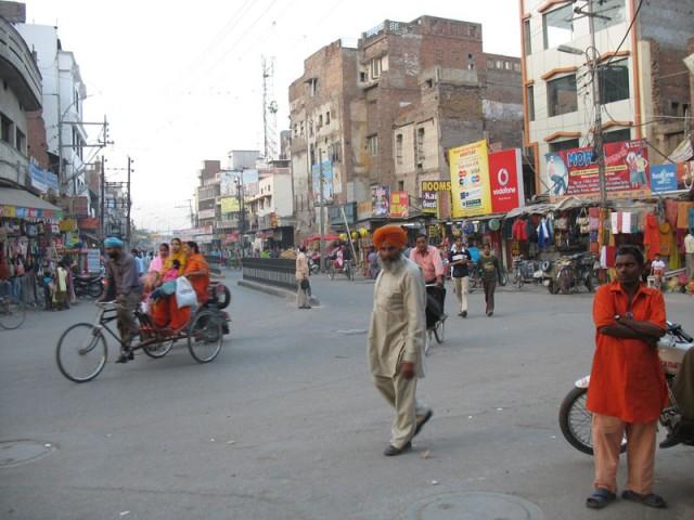 На улицах Амритсара