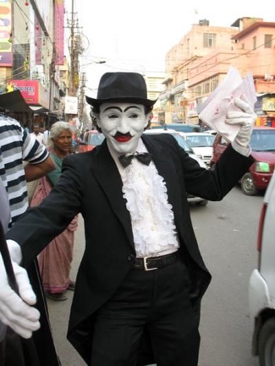 Чаплин в Дели