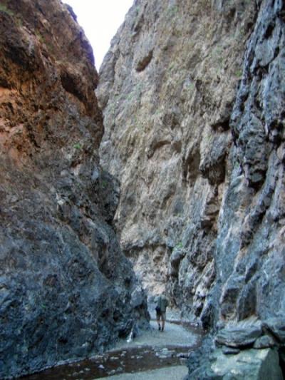 Путь в ущелье
