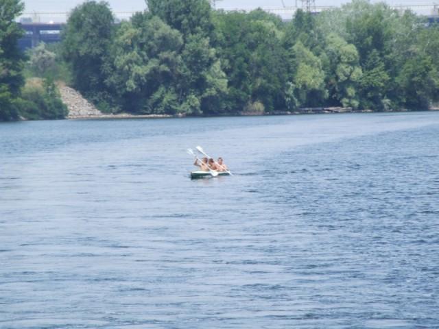 Трое в лодке...