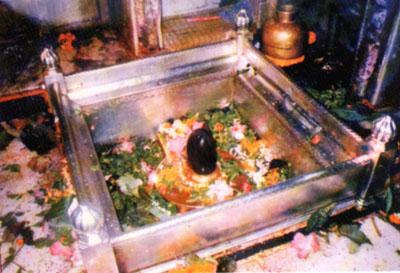 Сам лингам Каши Вишванатх