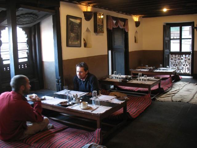 В ресторане Nanglo West
