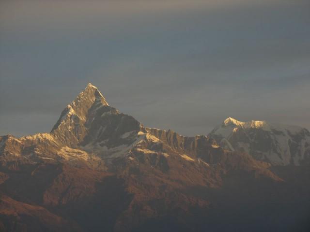 Мачапучаре, Гималаи