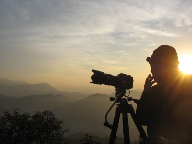 Фотограф и горы