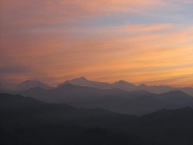 Рассвет над Аннапурной, Непал