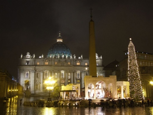 центральная площадь Ватикана