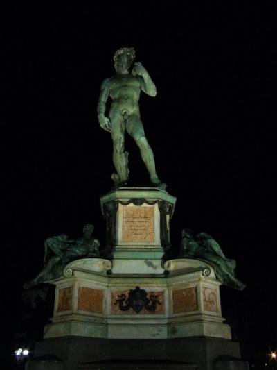 Давид на площади Микеланжело