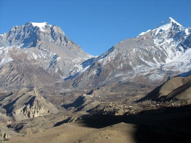 Перевал над Муктинатхом