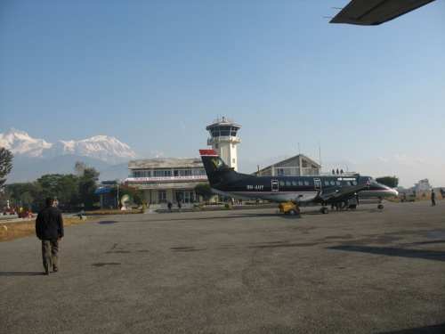 Аэропорт в Покхаре
