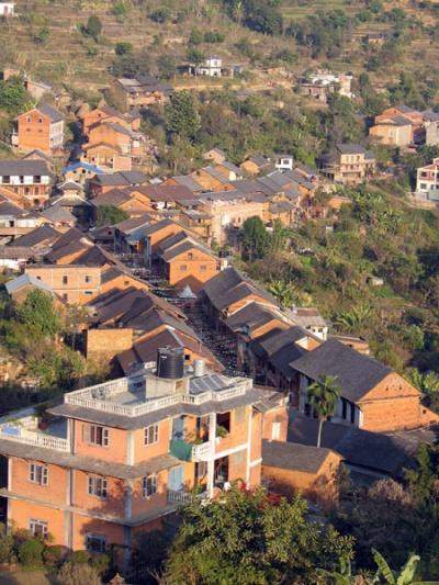 Бандипур, вид сверху