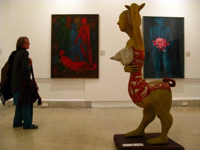 В Музее Современного Искусства в Дели