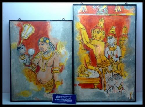 Картины в музее дворца