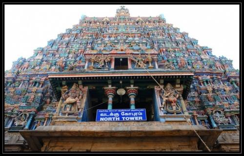 Северная башня храма