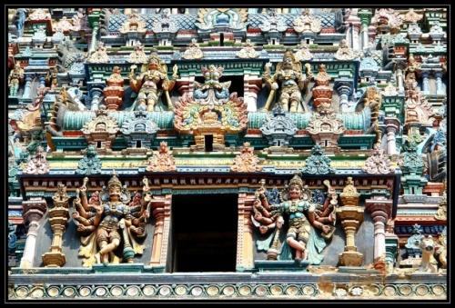 Башня храма Мишакши