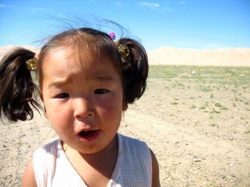 Жительница пустыни Гоби