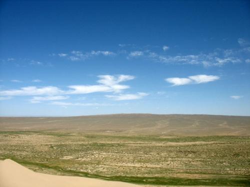 Вид на равнину с дюн