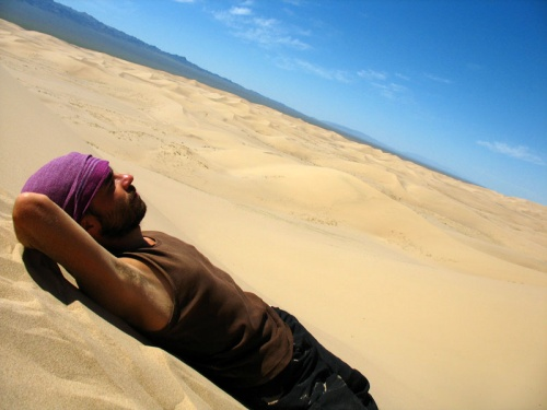 Муни в дюнах