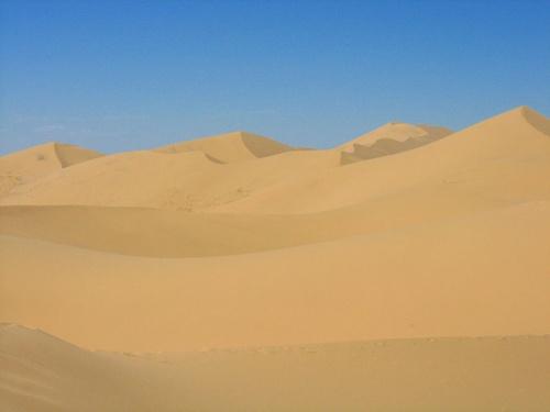 Пейзаж. Пески Хонгорын Элс