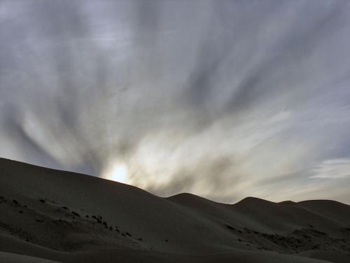 Небесное светопредставление в пустыне Гоби