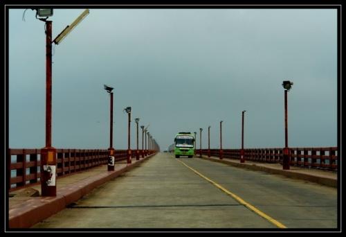 Мост на остров в Рамешварам