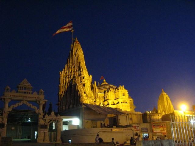 Храм Кришны в Двараке