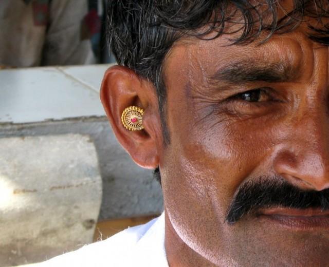 Гуджарат. Мужские украшения