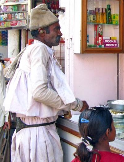 Гуджаратская рубашка-распашонка