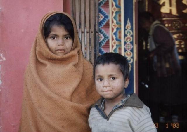 Дети Индии.