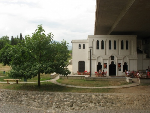Бывшие турецкие бани - сейчас книжное кафе