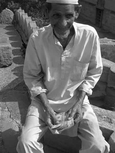 Специально для СОСО: Дедушка-шайтан с долларами