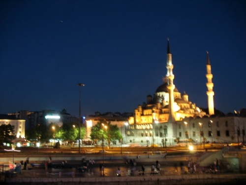 Ночной Стамбул