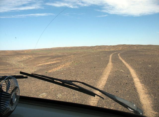 Дорога к каньону Хермен Цав
