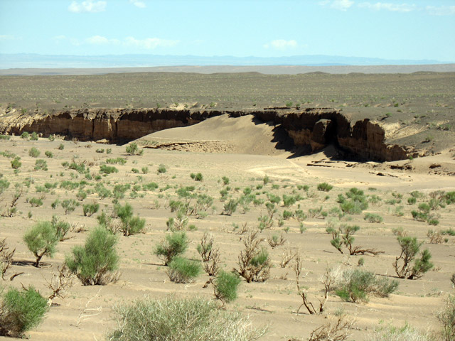 Виды по дороге к каньону Хермен Цав