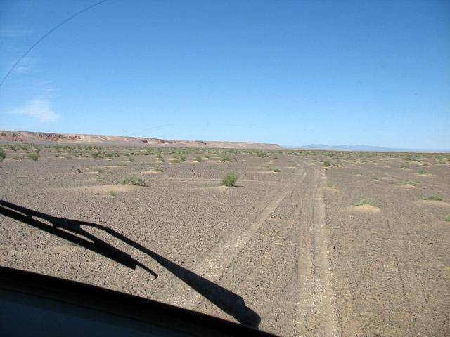 Подъезжаем к каньону Хермен Цав