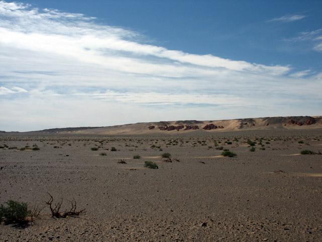 Необитаемая пустыня Гоби