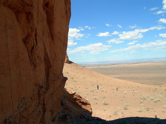 В Хермен Цаве, пустыня Гоби