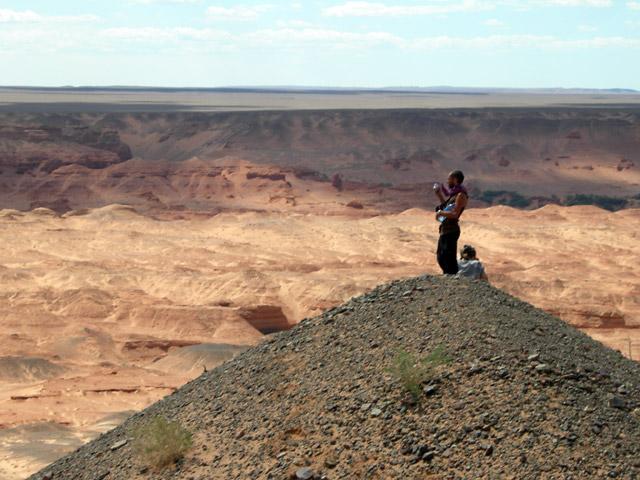 У каньона Хермен Цав