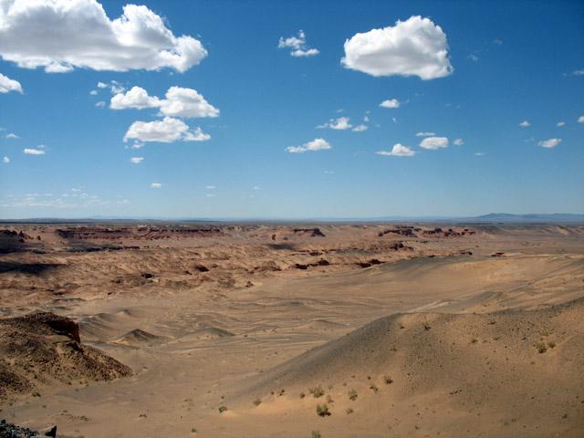 Каньон Хермен Цав, пустыня Гоби