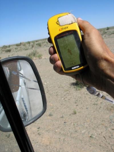 Наш верный друг GPS