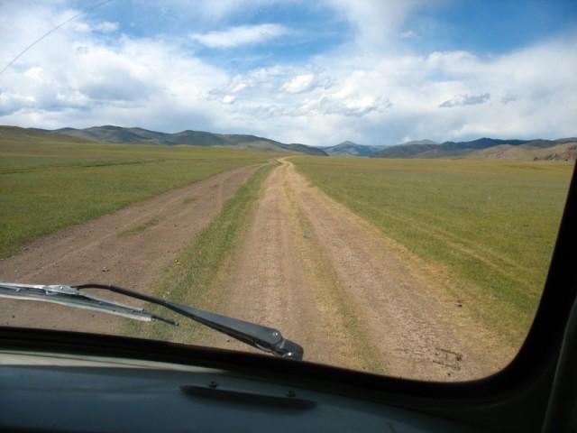 Дорога. Монголия