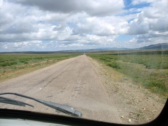 Монгольский асфальт. Дорога Каракорум – Улан-Батор