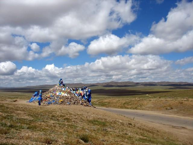 Прощальный взгляд на монгольские просторы