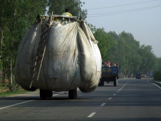 По дороге в Дели