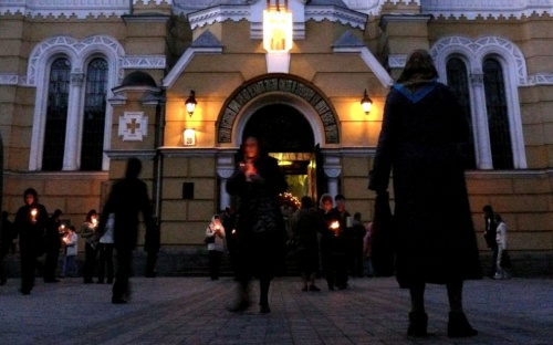 Чистый Четверг. Киев.