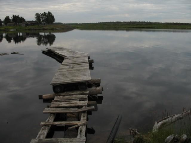 Энгозеро,стартовые мостки