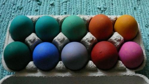 4. Красим в разные цвета.