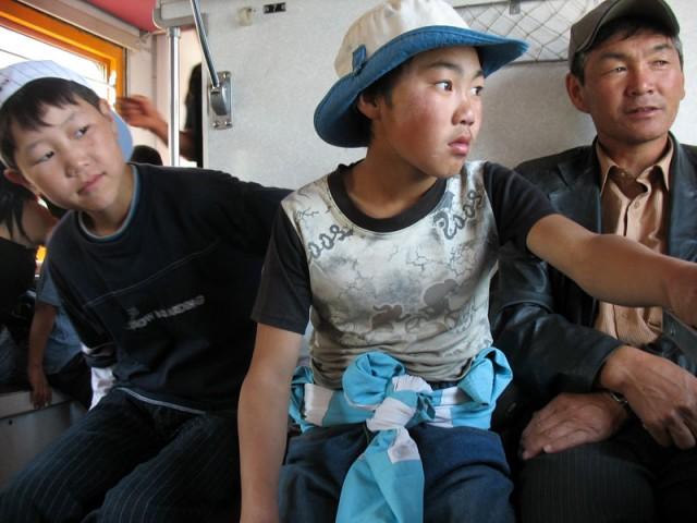 Поезд – русский, пассажиры – монгольские