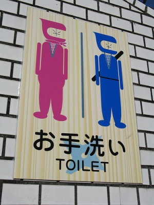 Для настоящих ниндзь! (Япония)