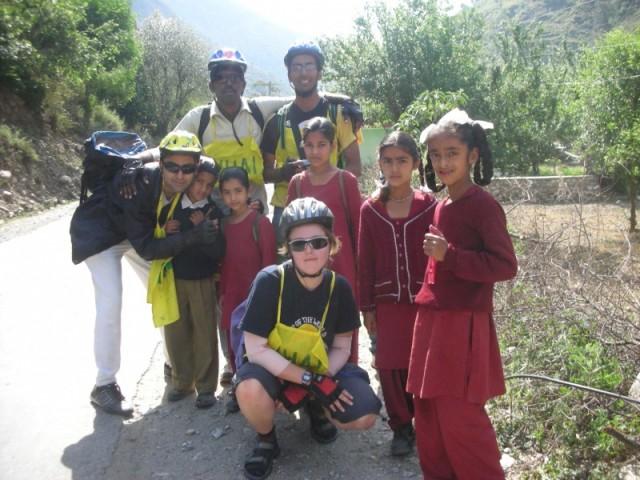 деревенские дети
