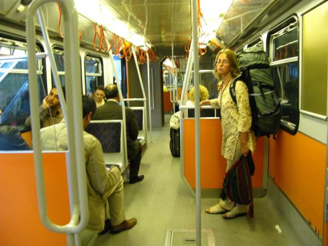 В стамбульском метро